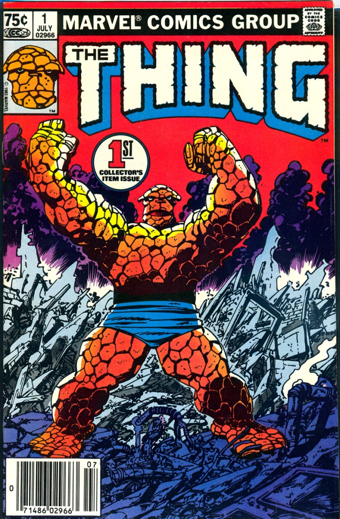 The Thing #1, 75 Cent Cover Price Variant