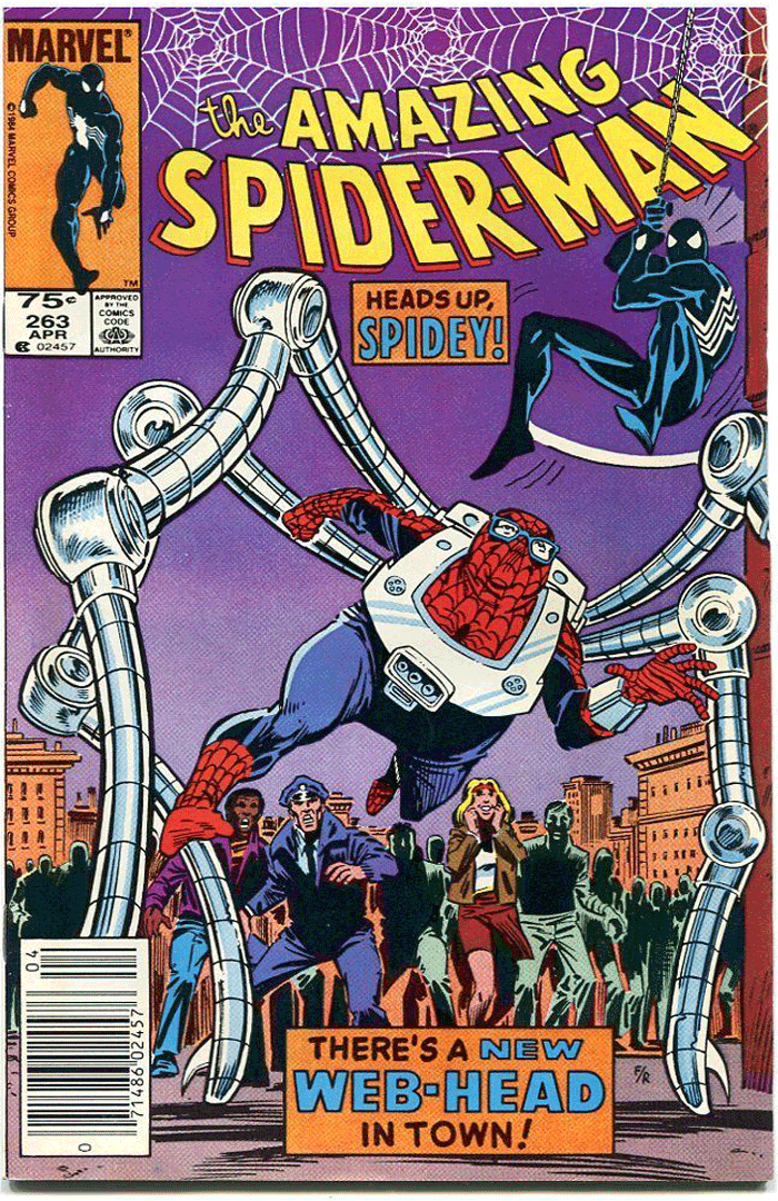 Amazing Spider-Man #263, Type 1A 75¢ Cover Price Variant; Canadian Newsstand