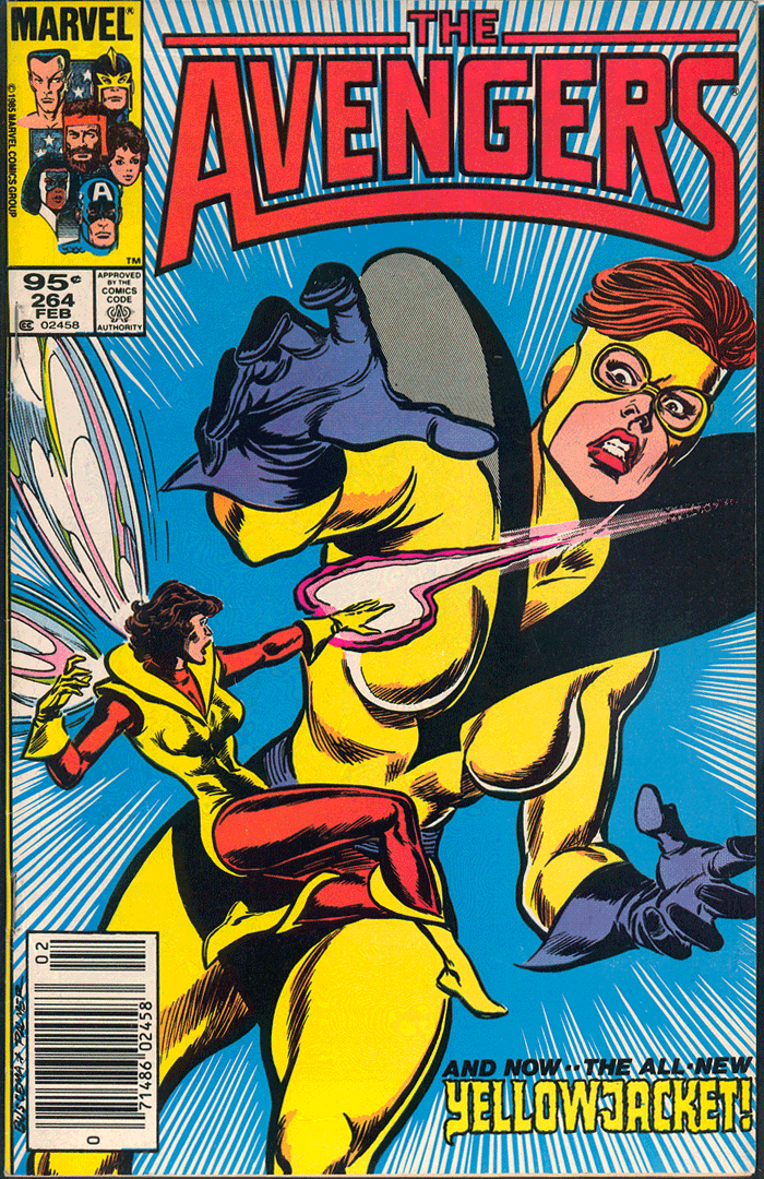 Avengers #264, Type 1A 95¢ Cover Price Variant; Canadian Newsstand