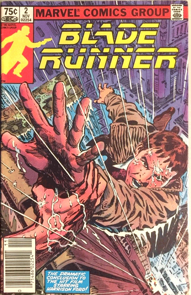 Blade Runner #2, Type 1A 75¢ Cover Price Variant; Canadian Newsstand