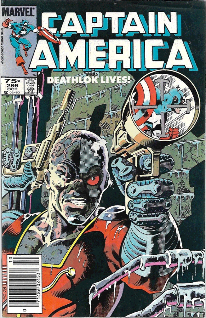 Captain America #286, Type 1A 75¢ Cover Price Variant; Canadian Newsstand