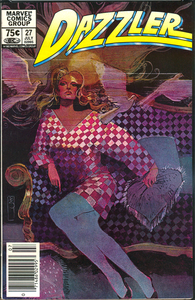 Dazzler #27, Type 1A 75¢ Cover Price Variant; Canadian Newsstand