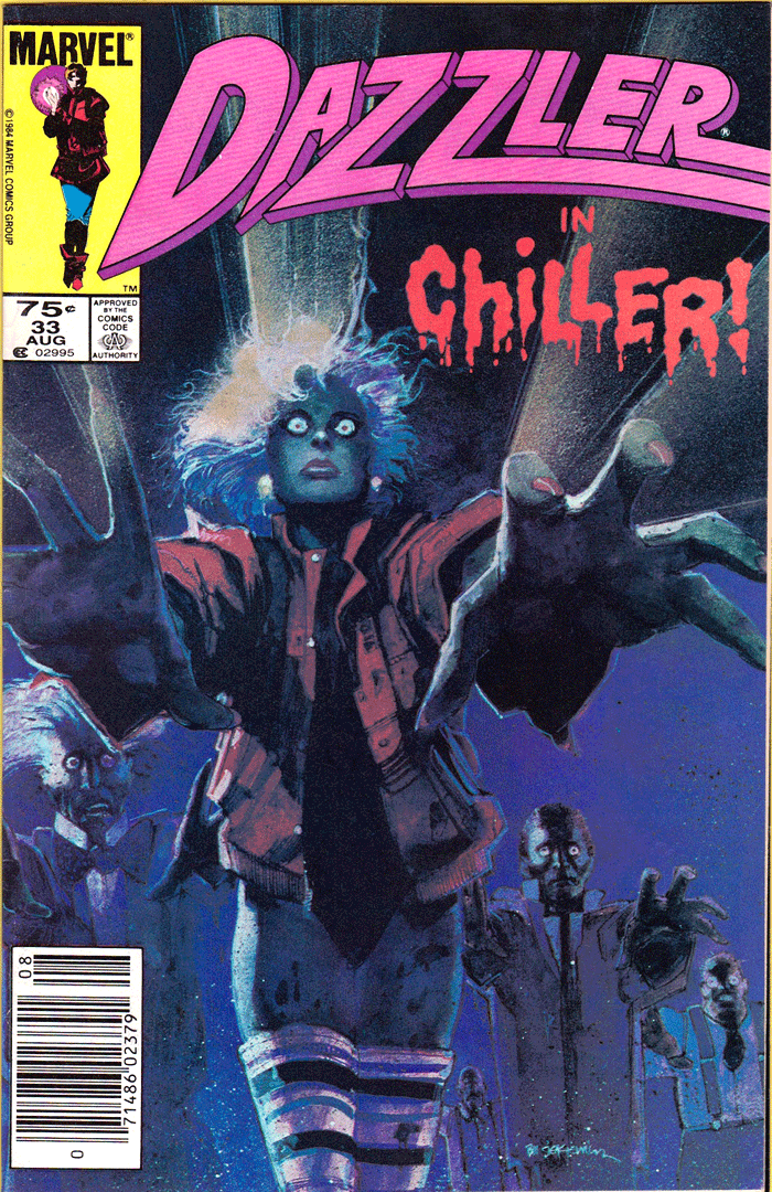Dazzler #33, Type 1A 75¢ Cover Price Variant; Canadian Newsstand