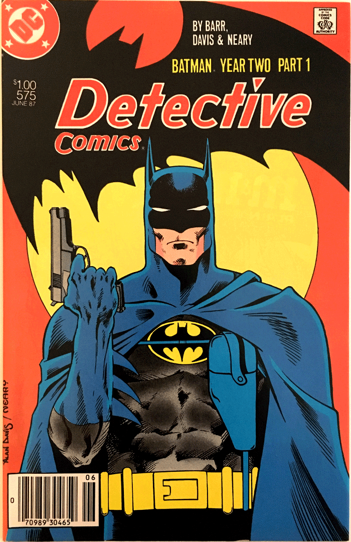 Detective Comics #575, Type 1A $1.00 Cover Price Variant; Canadian Newsstand