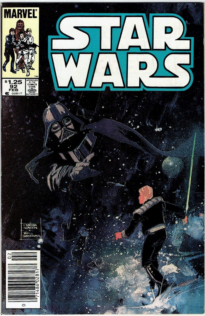 Star Wars #92, Type 1A $1.25 Cover Price Variant; Canadian Newsstand