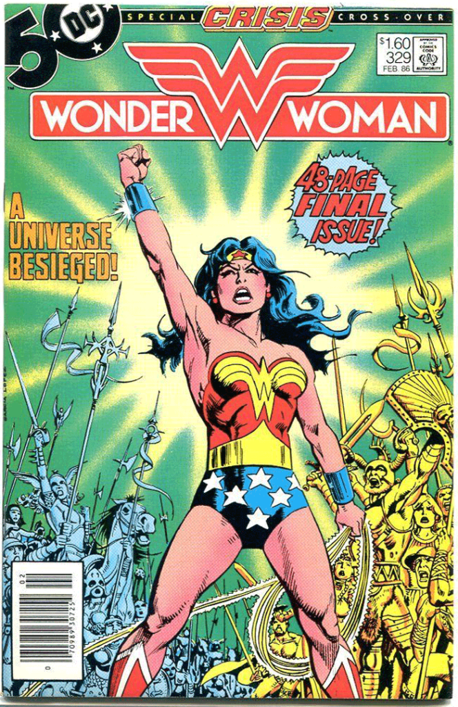 Wonder Woman #329, Type 1A $1.60 Cover Price Variant; Canadian Newsstand