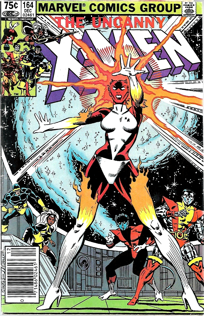X-Men #164, Type 1A 75¢ Cover Price Variant; Canadian Newsstand