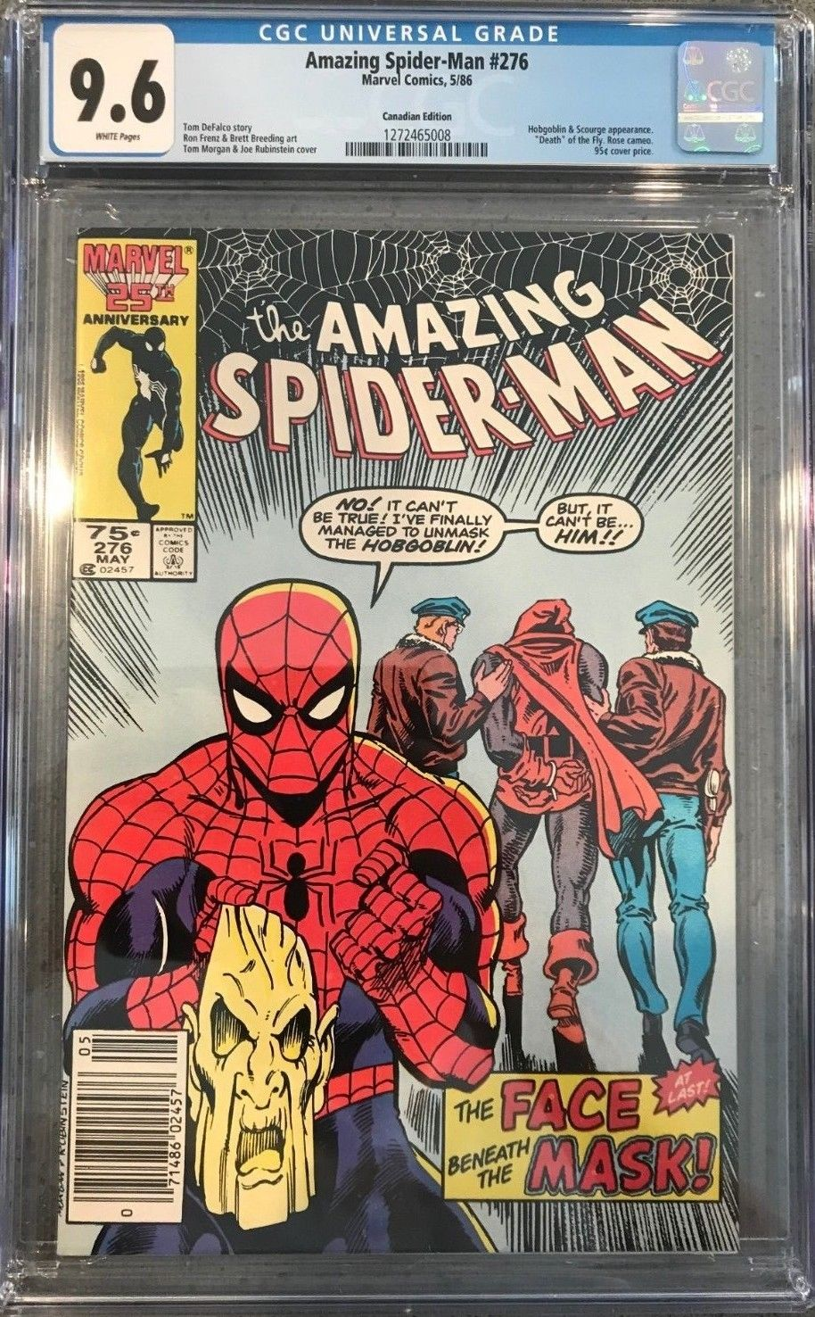 Collectibles 9.2 Catalogues Will Be Sent Upon Request Amazing Spiderman #307 Nm