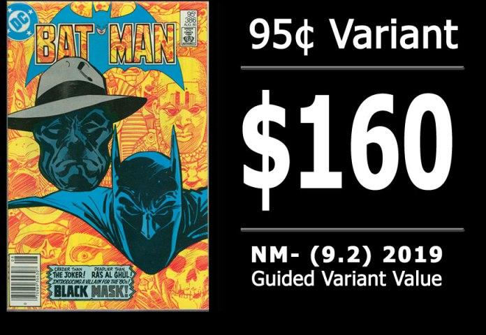 #10: Batman #386, 2019 NM- Variant Value = $160