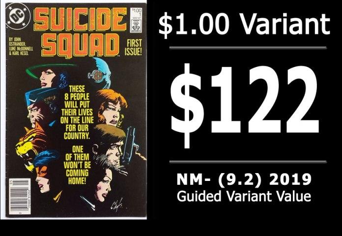 #17: Suicide Squad #1, 2019 NM- Variant Value = $122