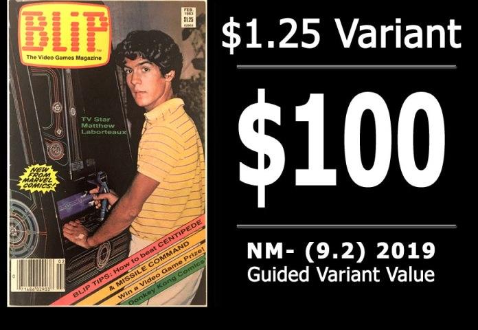 #20: Blip #1, 2019 NM- Variant Value = $100