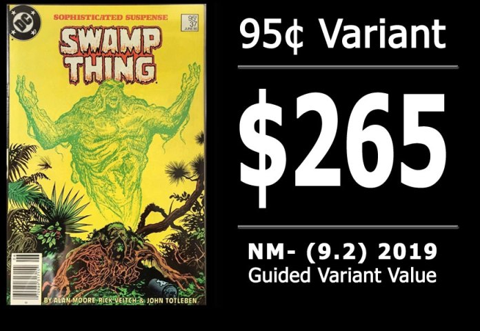 #3: Saga of the Swamp Thing #37, 2019 NM- Variant Value = $265