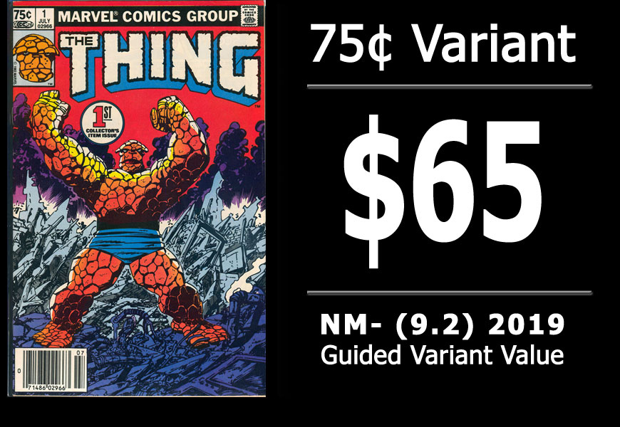 #52: Thing #1, 2019 NM- Variant Value = $65