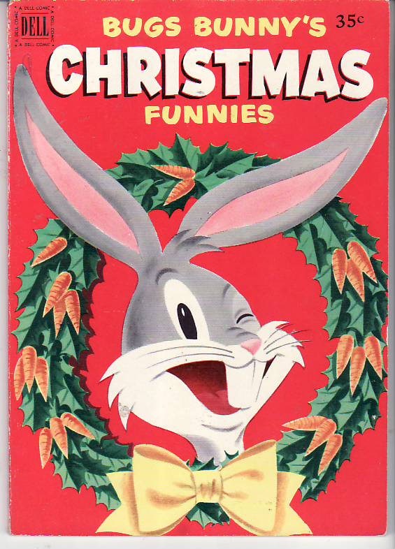 Dell Giant Bugs Bunny's Christmas Funnies