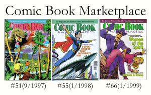 Comic Book Marketplace Magazine #51, #55, and #66