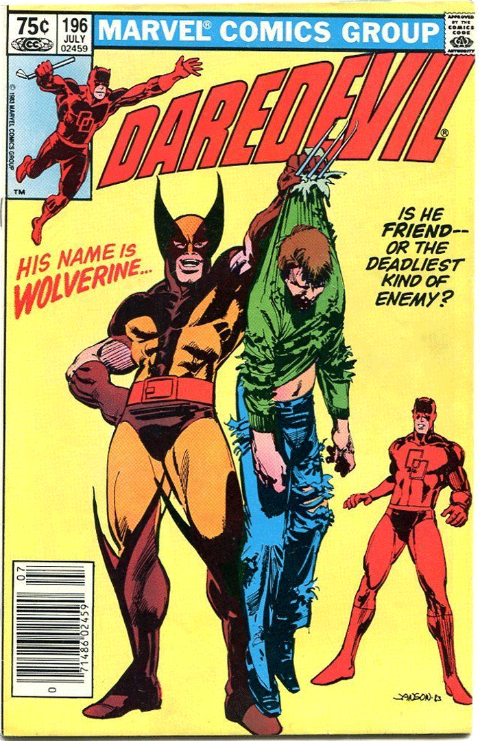 Daredevil #196, Type 1A 75¢ Cover Price Variant; Canadian Newsstand