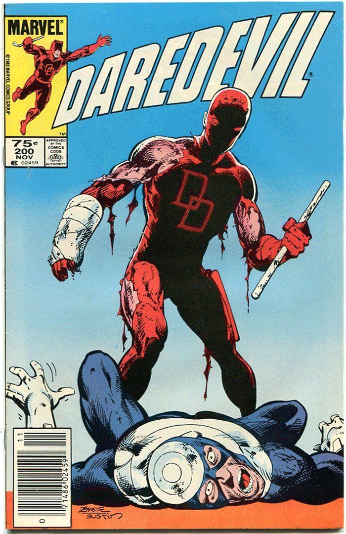 Daredevil #200, Type 1A 75¢ Cover Price Variant; Canadian Newsstand
