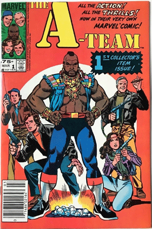 A-Team #1, 75¢ Price Variant