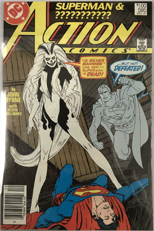 Action Comics #595, $1.00 Price Variant