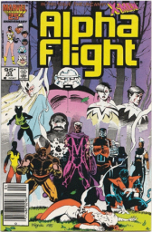 Alpha Flight #33, 95¢ Price Variant