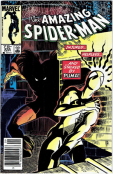 Amazing Spider-Man #256, 75¢ Price Variant