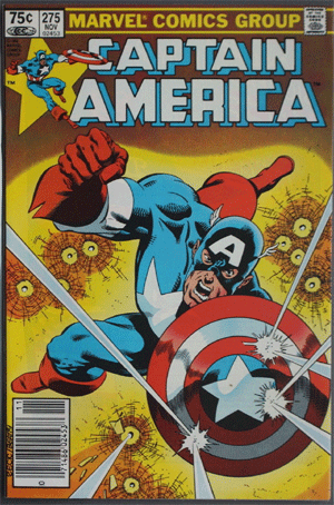 Captain America #275, 75¢ Price Variant
