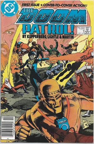 Doom Patrol #1, $1.00 Price Variant
