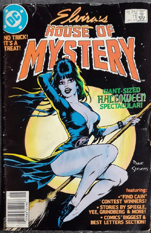 Elvira's House of Mystery #11, $1.75 Price Variant