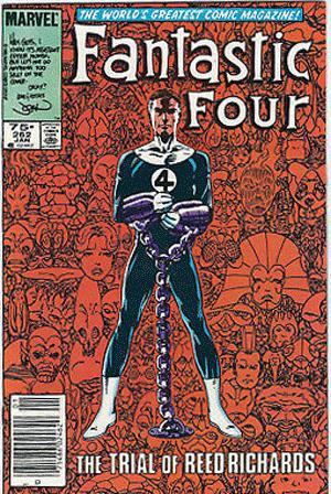 Fantastic Four #262, 75¢ Price Variant
