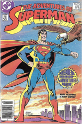 Adventures of Superman #424, $1.00 Price Variant