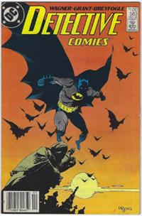 Detective Comics #583 $1.00 Price Variant