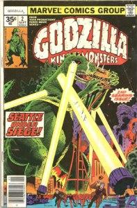 Godzilla #2 35 Cent Variant