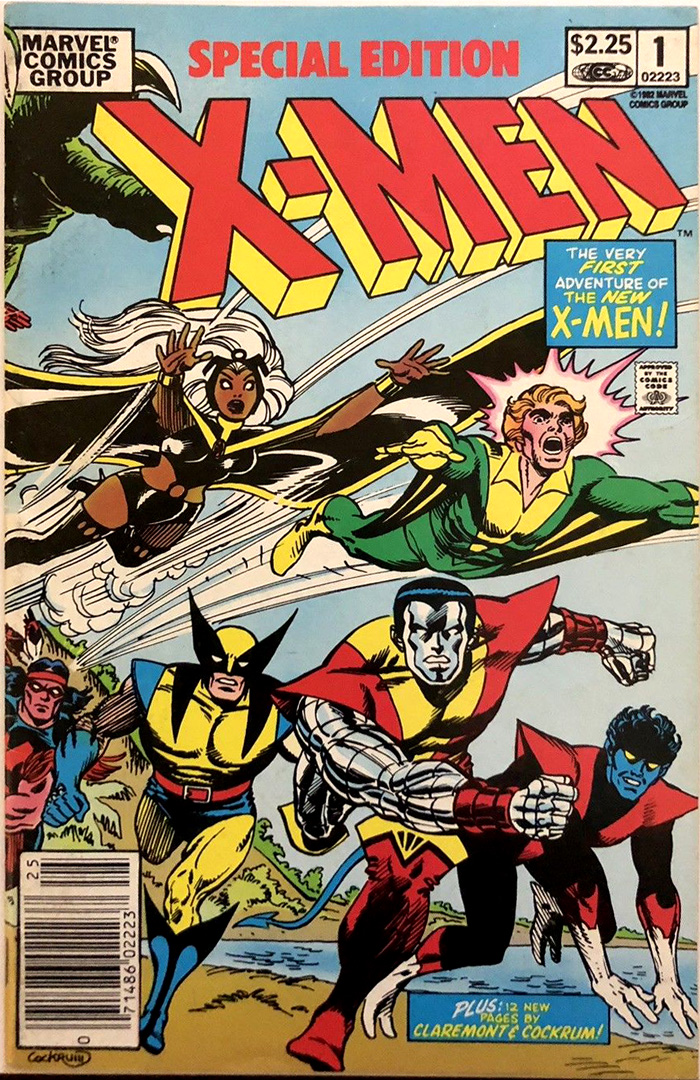 Special Edition X-Men #1, Type 1A $2.25 Cover Price Variant; Canadian Newsstand