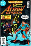 Action Comics #521, 15p Pence Price Variant