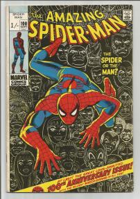 Amazing Spider-Man #100 Pence Price Variant