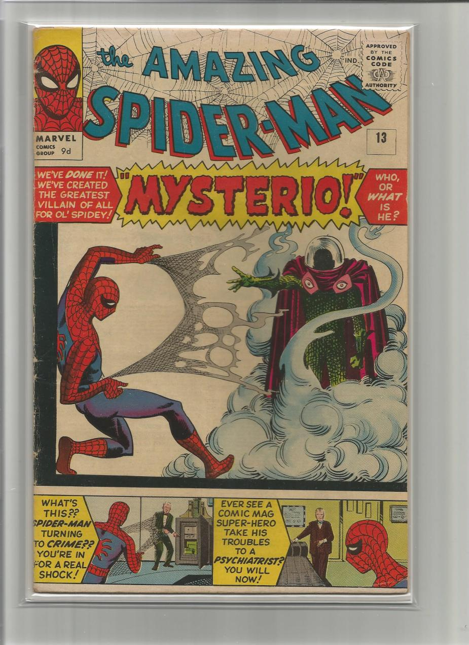 Amazing Spider-Man #13, 9d Pence Price Variant