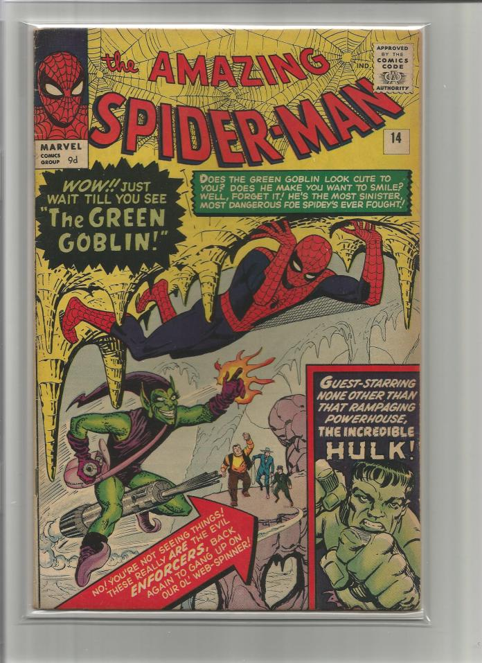 Amazing Spider-Man #14, 9d Pence Price Variant
