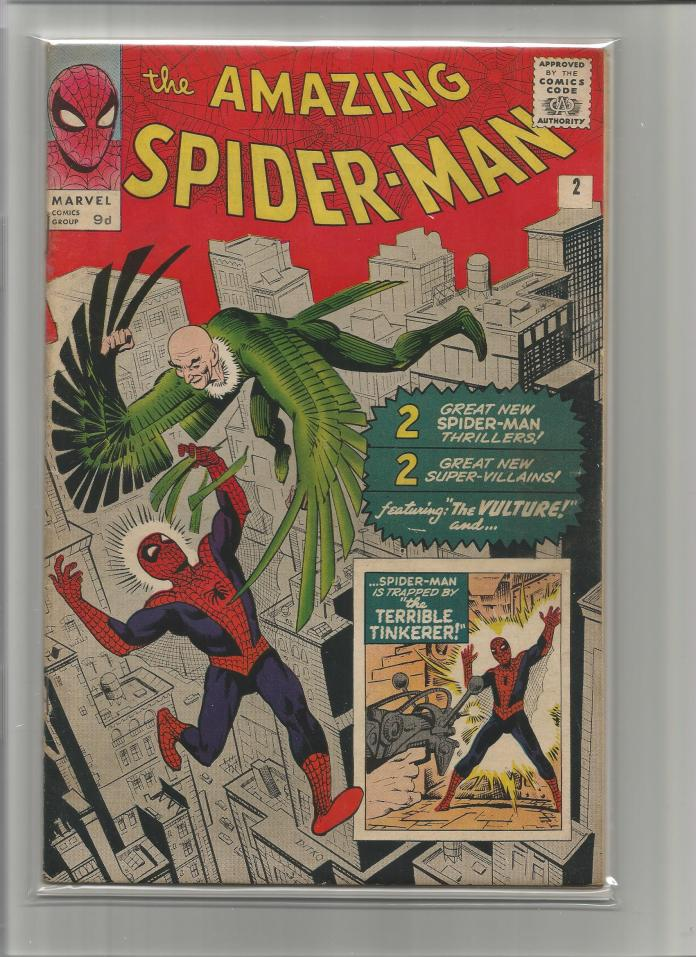 Amazing Spider-Man #2, 9d Pence Price Variant
