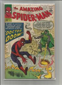 Amazing Spider-Man #5 Pence Price Variant