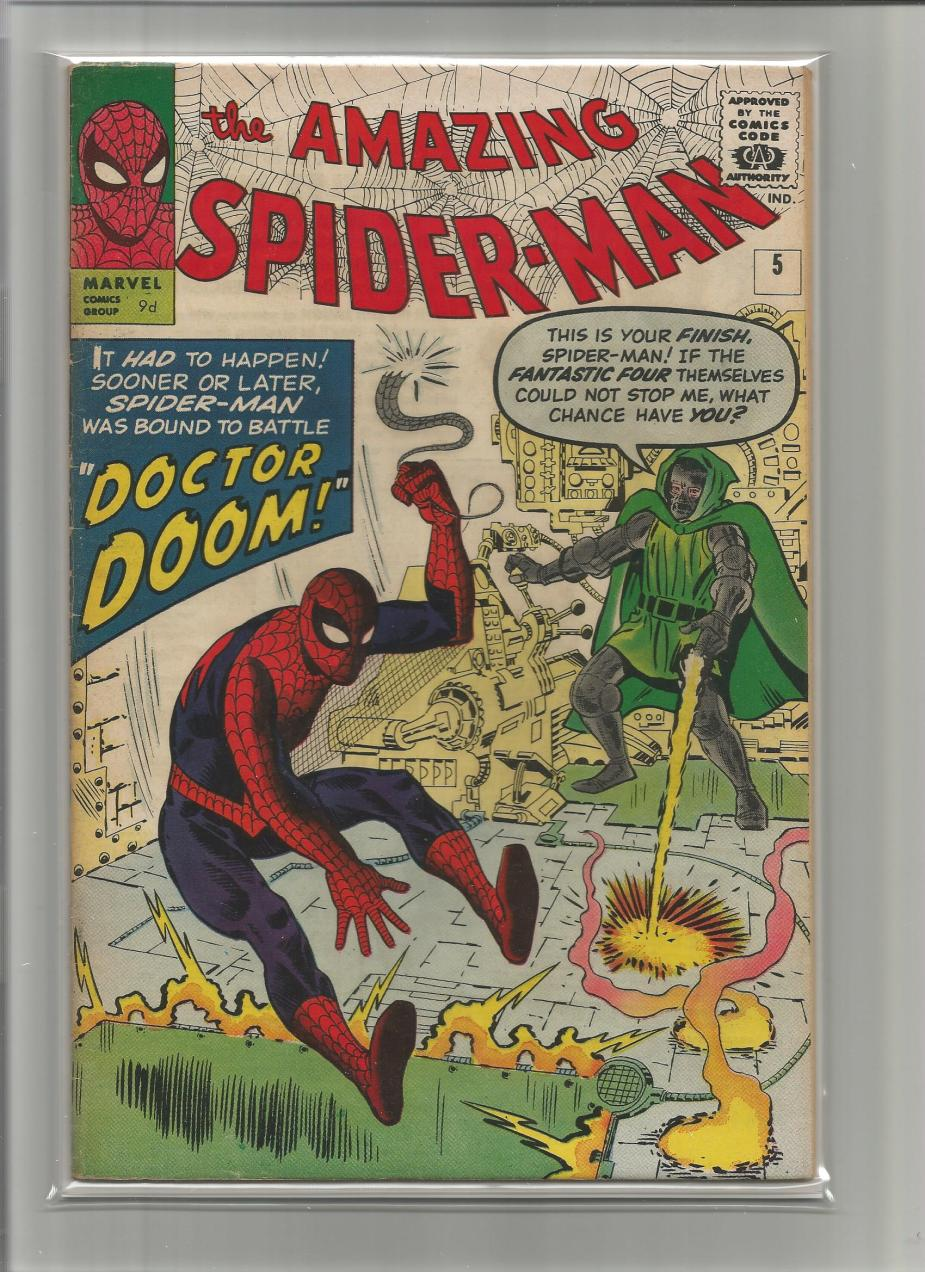 Amazing Spider-Man #5, 9d Pence Price Variant