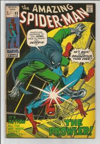Amazing Spider-Man #93 Pence Price Variant