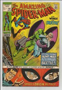 Amazing Spider-Man #94 Pence Price Variant