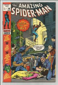 Amazing Spider-Man #96 Pence Price Variant