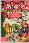 Avengers #1, 9d Pence Price Variant