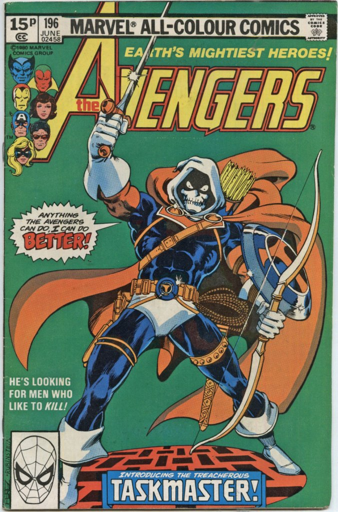 Avengers #196, 15p Pence Price Variant