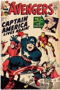 Avengers #4 Pence Price Variant