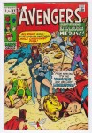 Avengers #83, 1/- Pence Price Variant