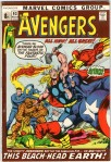 Avengers #93, 8p Pence Price Variant