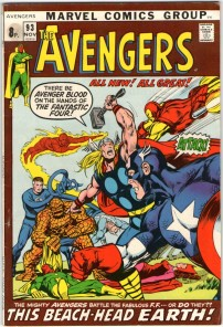 Avengers #93 Pence Price Variant