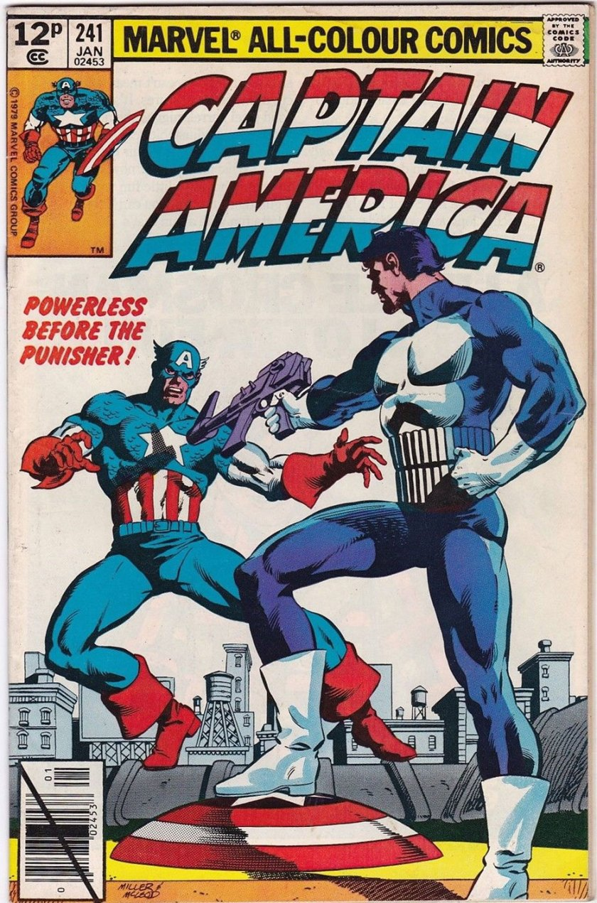 Captain America #241, 12p Pence Price Variant